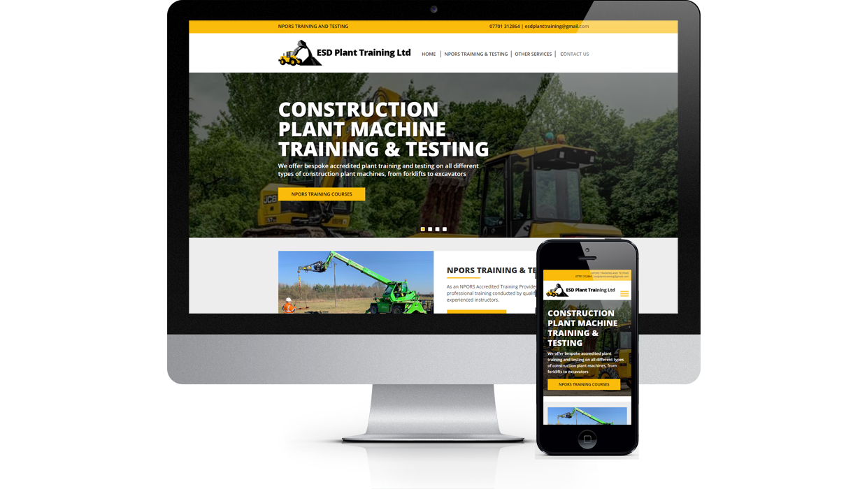 ESD Plant Training - Construction Plant Machine Training & Testing