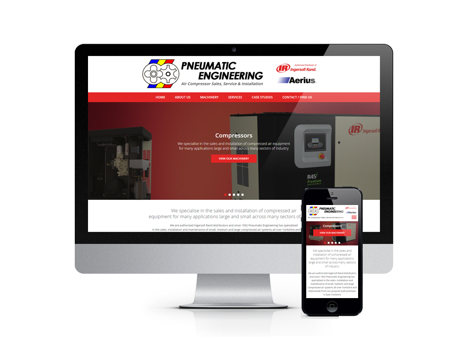 Pneumatic Engineering - Specialise in the Sales, Installation and Maintenance of Compressed Air Systems