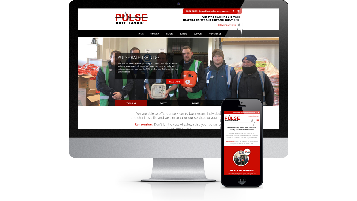 Pulse Rate Group - One stop shop for all your Health & Safety and First Aid Solutions
